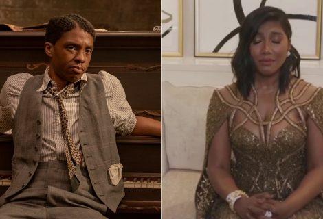 Esposa de Chadwick Boseman recebe Globo de Ouro pelo ator com discurso comovente