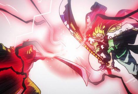 One Piece: tripulações de Gol D. Roger e Barba Branca se enfrentam