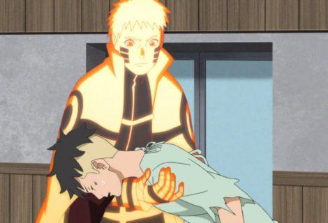 Boruto: encontro de Naruto e Kawaki tem easter egg do início do anime