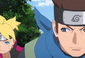 Boruto e Konohamaru param para lamentar morte de Mugino no anime