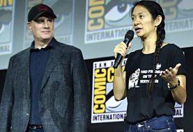 Eternos: fãs 'zoam' Kevin Feige por se impressionar com Chloé Zhao