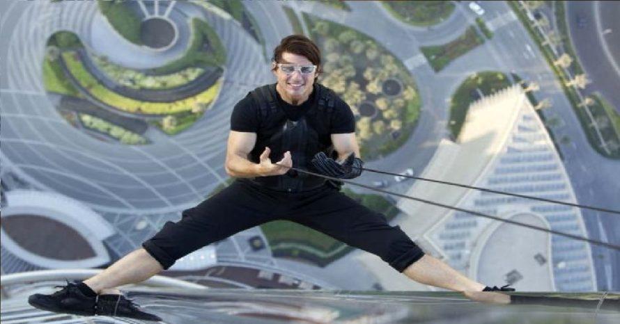 Aos 58, Tom Cruise dispensa dublês em cenas e apavora equipes de filmagem