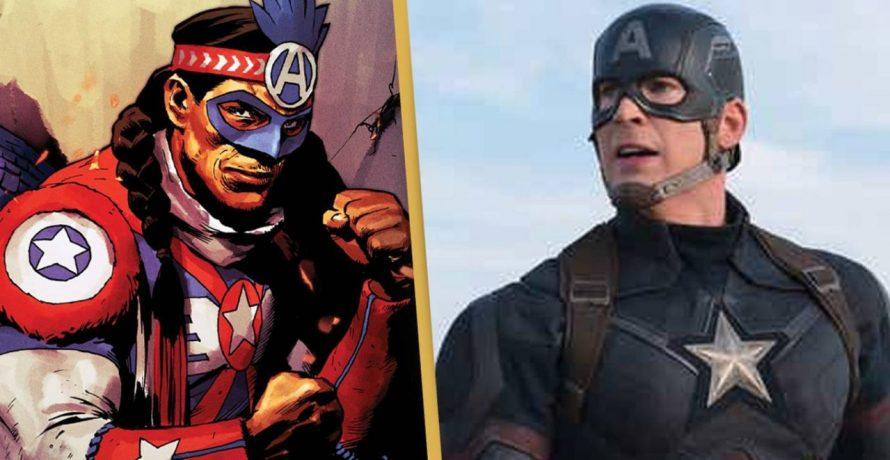 Novo Capitão América dos quadrinhos é de origem indígena