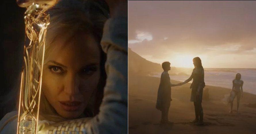 Finalmente! Marvel publica primeiras cenas de Eternos em teaser