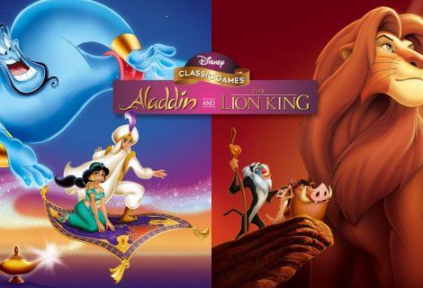 Jogos Clássicos da Disney: Aladdin e Rei Leão podem receber expansão na Steam