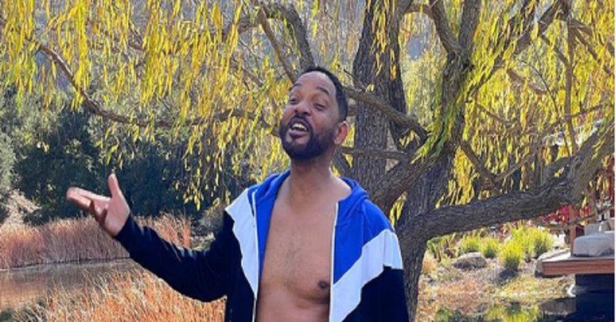 Will Smith mostra o shape da quarentena: 'pior forma da minha vida'
