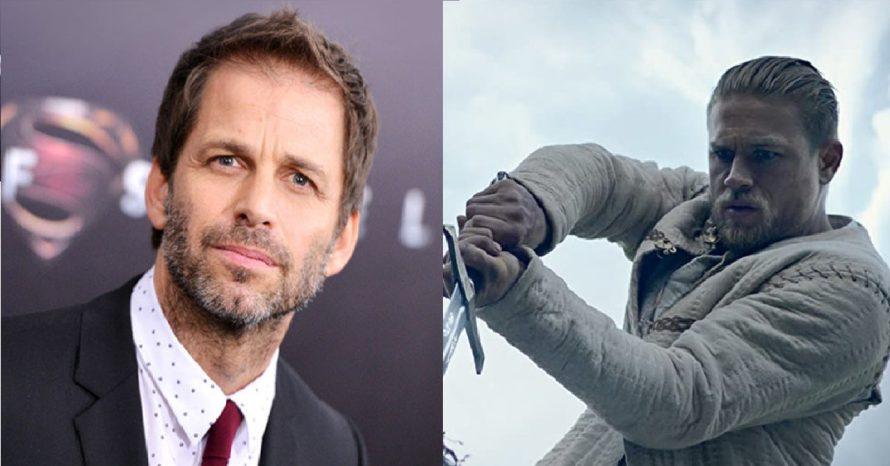 Zack Snyder está escrevendo 'Rei Arthur' durante a Corrida do Ouro