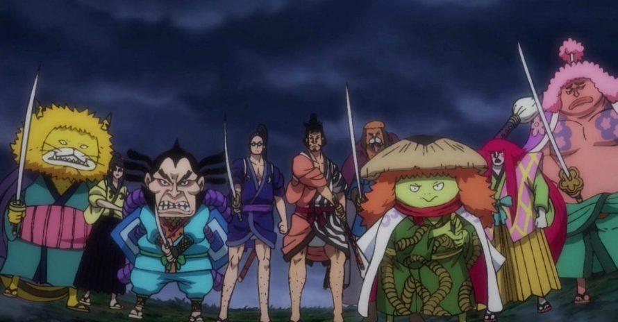 One Piece: anime mostra que há um traidor entre os Nove de Akazaya