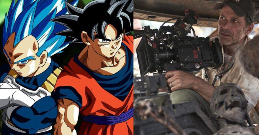 Zack Snyder gostaria de fazer filme de Dragon Ball Z